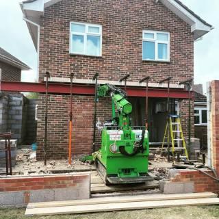 1000kg-Steel-Beam-Installation-in-Portsmouth