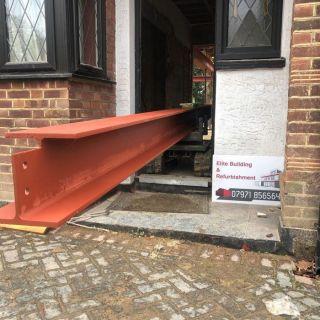 5-Steel-Beams-Installed-in-Eltham1