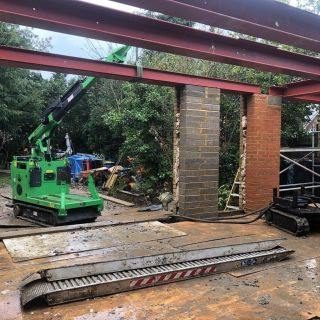 8-Steel-Beams-Installation-in-Staines4
