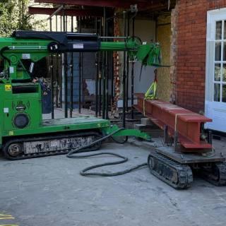 Ascot-Heavy-Steel-Beam-Installation2