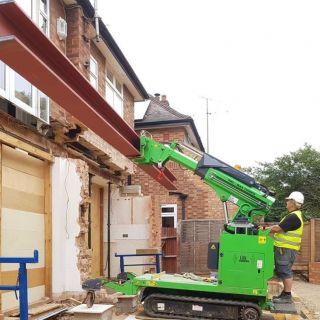 Big-Steel-Beam-Installation-in-Bishops-Stortford1
