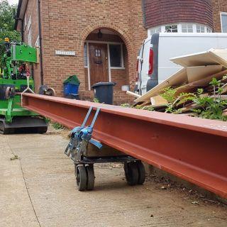 Big-Steel-Beam-Installation-in-Bishops-Stortford2