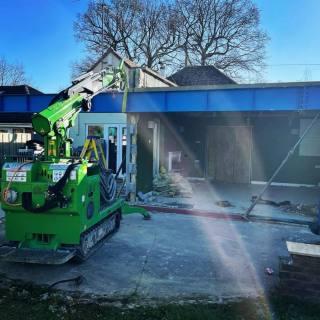 Heavy-Steel-Beam-Installation-in-Finchampstead-