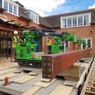 Huge-Three-Steel-Beam-Installation-in-Kingston-upon-Thames2