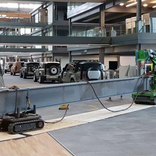 Indoor-Steel-Beam-Installation-for-Jaguar-Land-Rover1