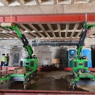 Installing-Heavy-Steel-Beams-in-Kingston-Upon-Thames2