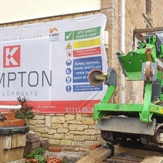 Installing-Steel-Beams-on-a-Restricted-Access-Site-in-Stratford-upon-Avon2