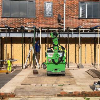 Large-Goal-Post-Steel-Frame-Installation-in-Newbury6