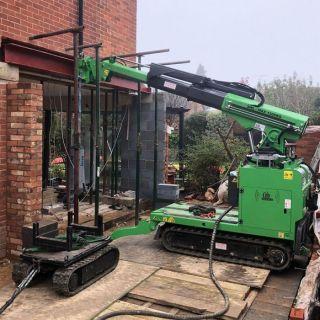 Steel-Beam-Installation-in-Farnham