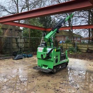 Steel-Beam-Portal-Frame-Installation-in-Farnham