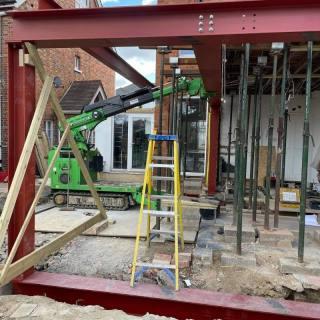 Structural-Steel-Beam-Installation-in-Tunbridge-Wells