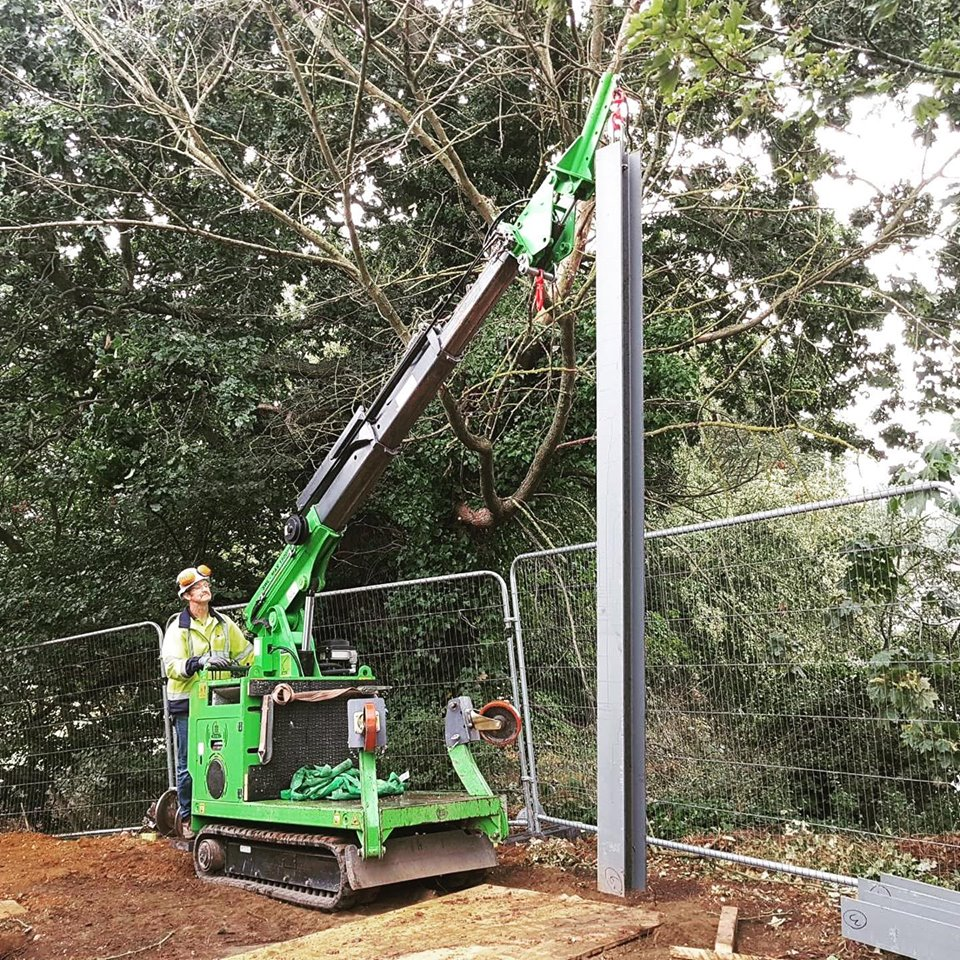 1000kg Steel I-Beam Installation in St Albans