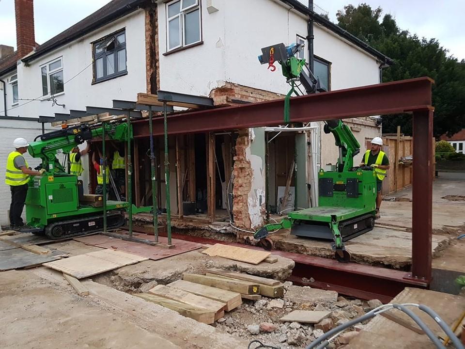 2.4 Tonne Beam Installation in Surrey
