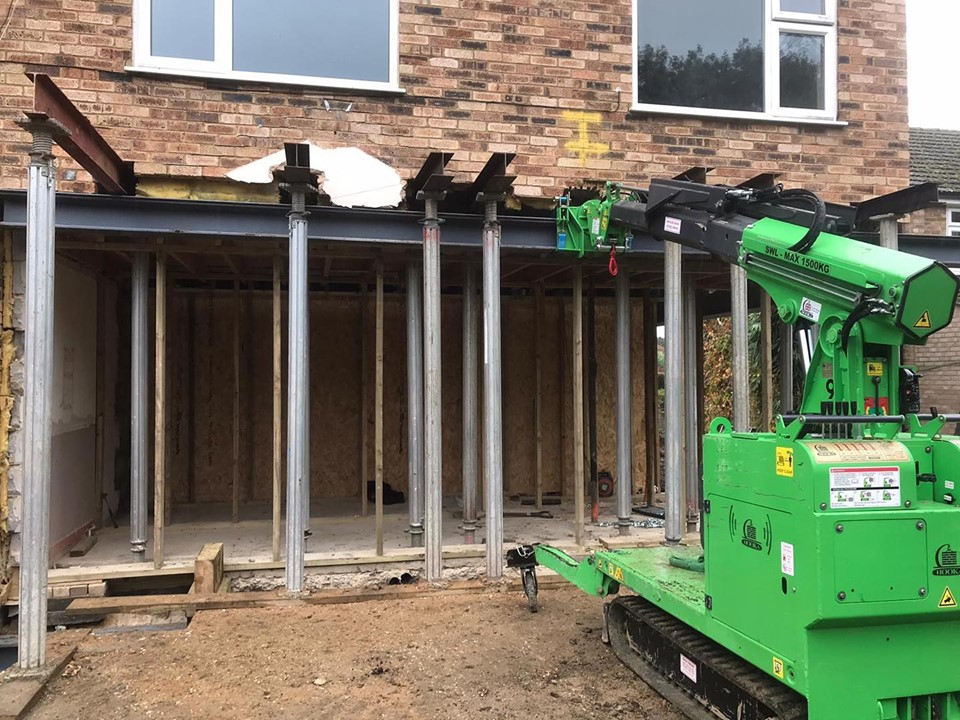 Four Steel Picture Frame Installation in Stevenage