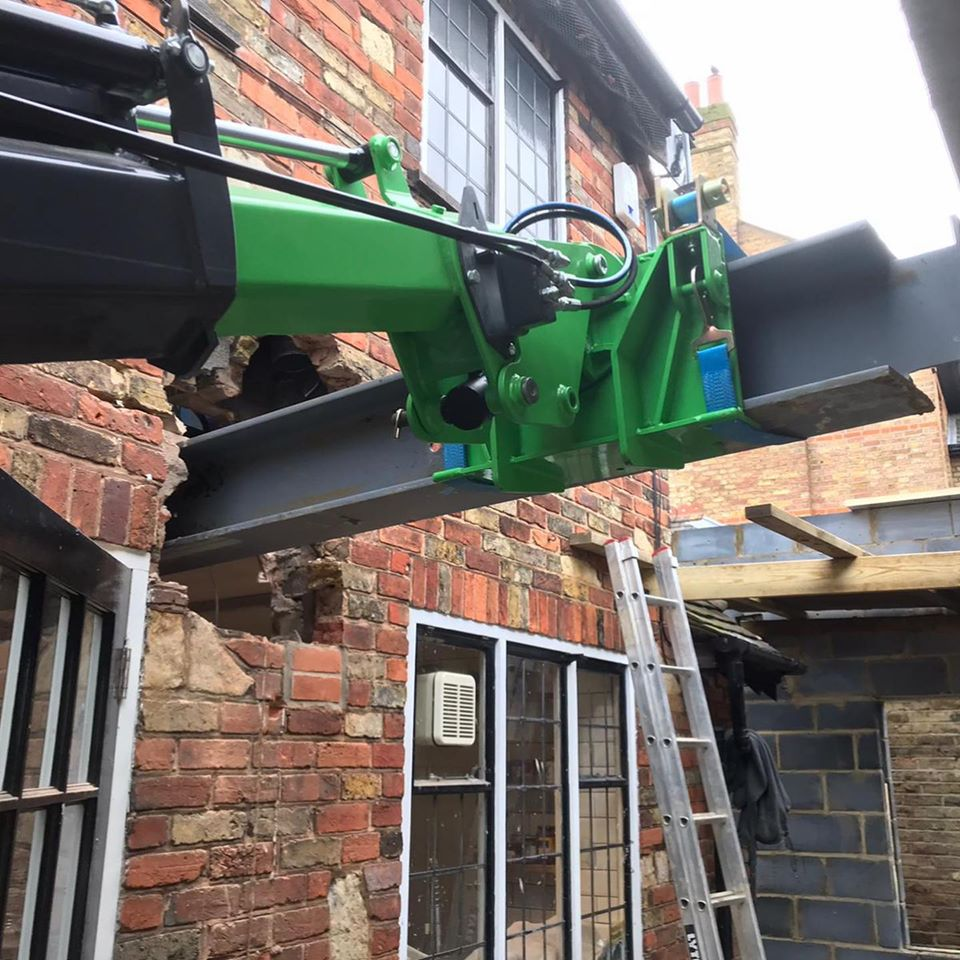 Multiple Steel Beam Installation in Sidcup