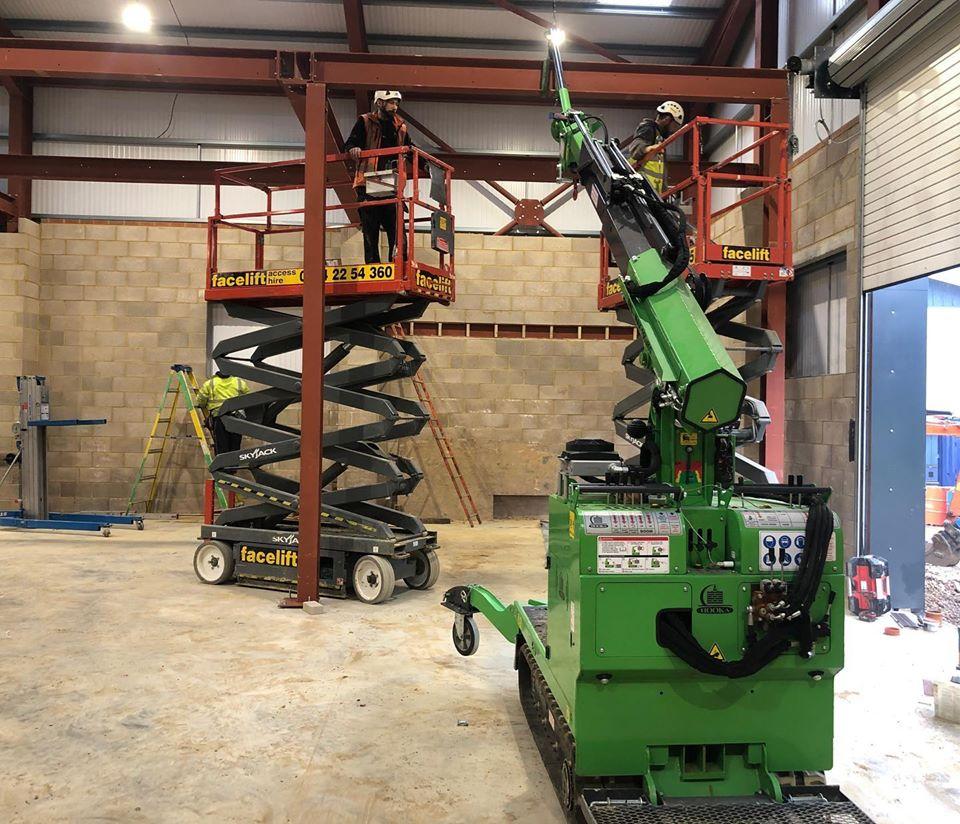 Installing a Mezzanine Floor in Littlehampton