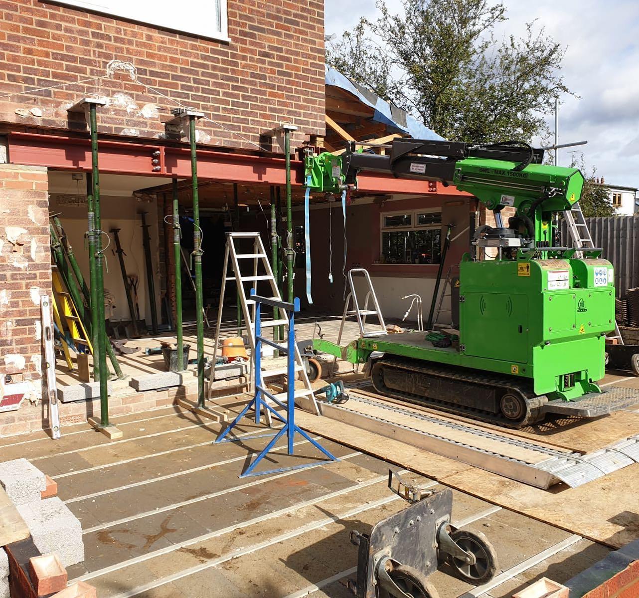 Steel Beam Installation in Essex