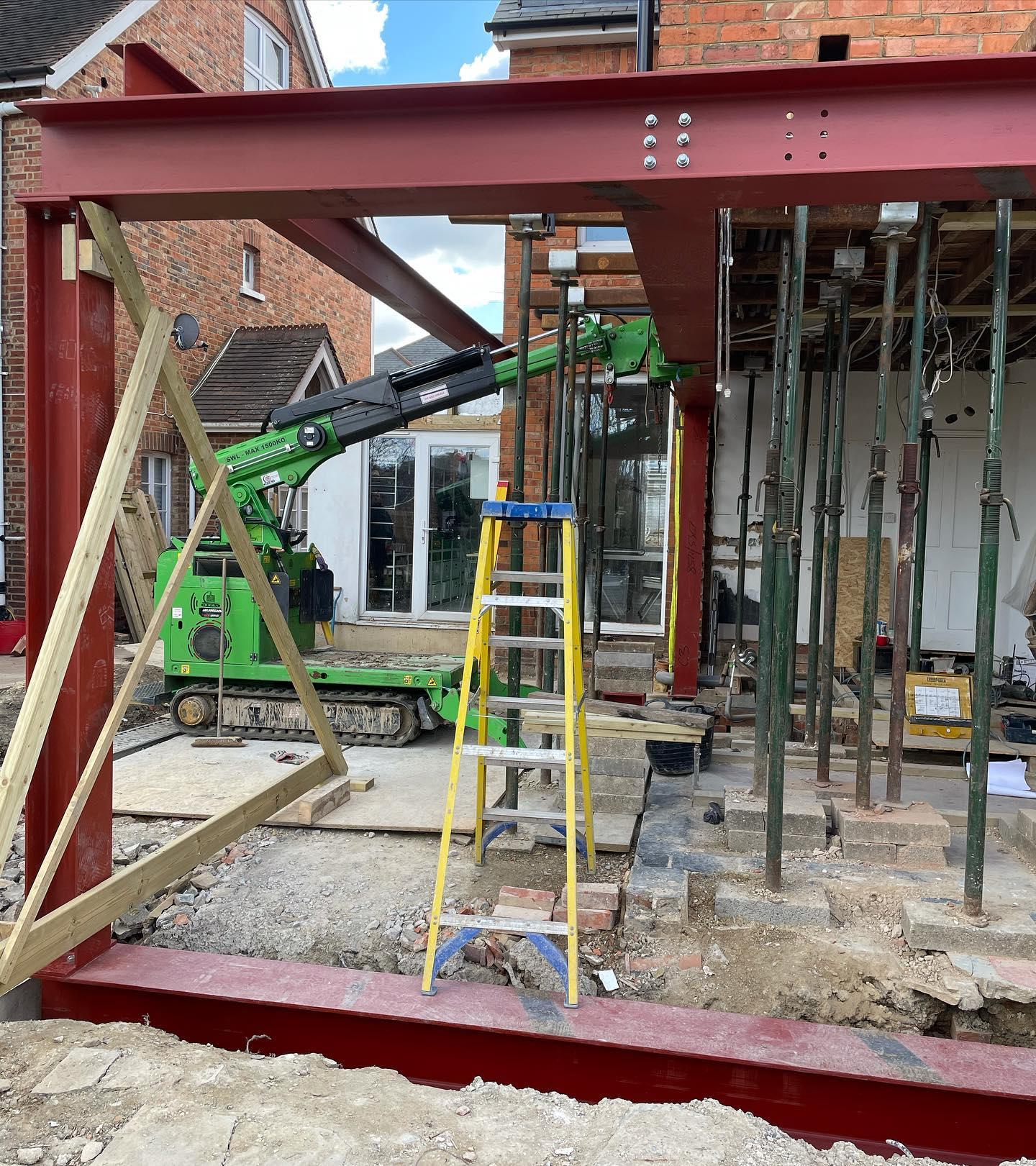 Structural Steel Beam Installation in Tunbridge Wells