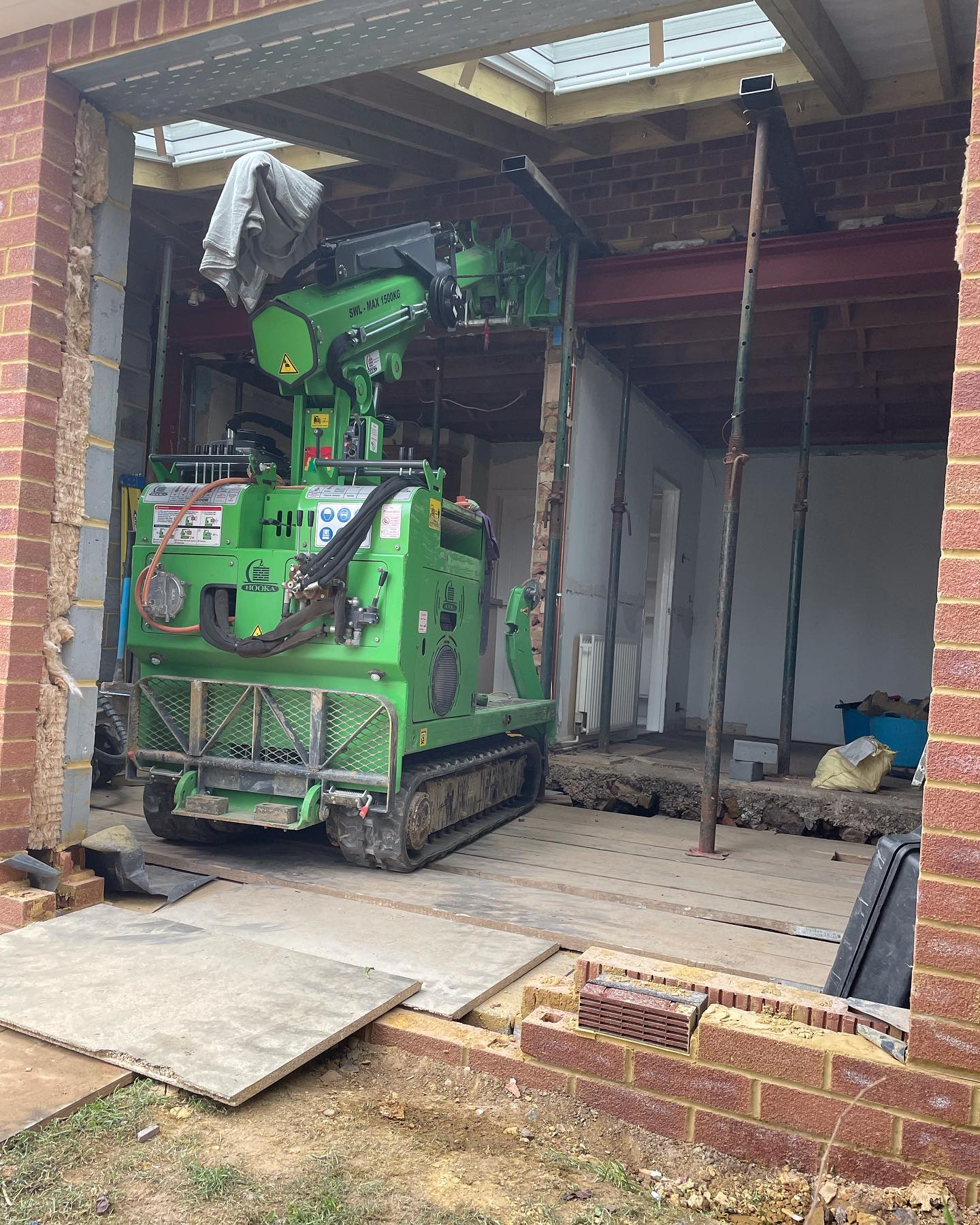 Steel Frame Assembly in Walton on Thames
